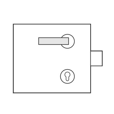 Standartinė cilindiniam užraktui